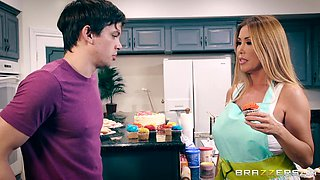 Kianna Dior is a horny housewife who cannot resist a big cock