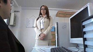 Yumi kazama office lady sex