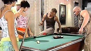 Billiard Foursome