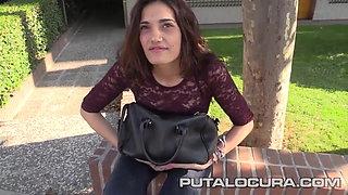 PUTA LOCURA Carlota Teen needs the cash