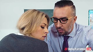 Bare asses lined up in front of kinky and perverted teacher