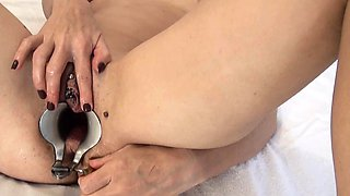 Extreme Peehole Fucking with Dildo Insertion