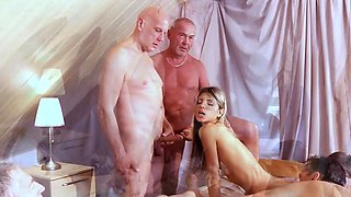Old Gangbang Sperm Donation For Teen Nymph Gina Gerson