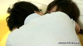 Korean wifey likes a dick