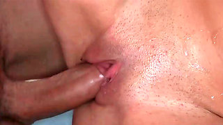 Parker Page sucking prick and getting drilled during outdoor affair