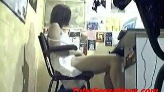 Orgasms On Hidden Webcam Compilation