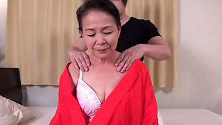 Naughty Japanese Grandma Tsuboi Fumi fucked hard