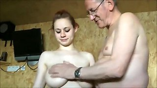 Teen And Old Guys