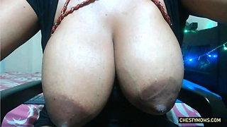 Latin Huge Tits fully Hot Milk