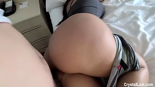 Pervy Step Family Vacation I Snuck Into My Curvy Latin Stepsister Hotel Room & Fucked Her Huge Ass