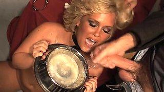 Sasha Knox full gokkun