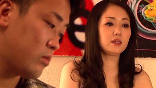 Horny Japanese girl Ai Matsuyama in Fabulous couple, cougar JAV scene