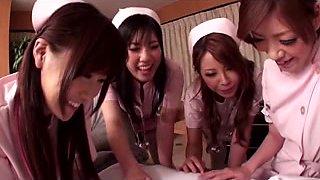 Japanese Large Boob Erotic Nurses two