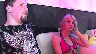 Big group of Germans get nasty at a swingers fest