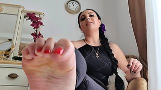 Nylons Foot High heels and Femdom Fetish