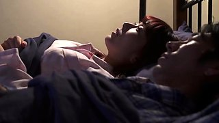 Lustful Asian housewife can't stop cheating on her husband