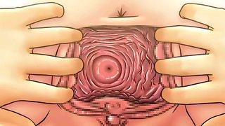 Hentai cervix penetration