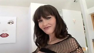 Exotic pornstar Carrie Ann in incredible piercing, mature porn movie