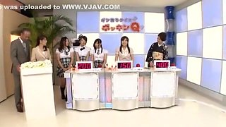 Crazy Japanese whore Misa Yuuki, Riko Miyase, Ririka Misuzu in Amazing Cunnilingus, Live shows JAV movie