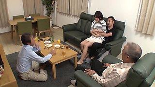 JAV - school girls do it secretly in front of family (nhdtb 213)