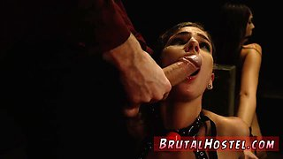 Extreme brutal compilation Two youthful sluts Sydney Cole and Olivia Lua our down south