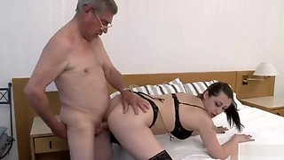 old man father in law fuck his daughter