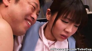 Saki Yuzumoto Asian office girl gets hot sex
