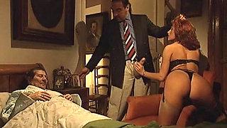 Erika Bella gets her asshole impaled on a hard cock