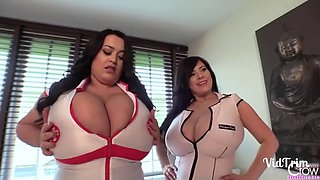 Busty Nurses Bounce For You!