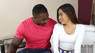 18 year old Indian Zayas first Interracial Audition