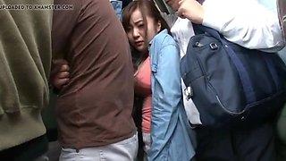 Hot japanese bus facking