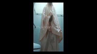 mukenah pink