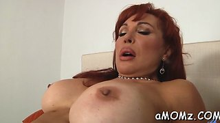 smoking hot mature in action video film 1