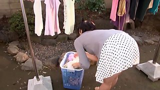 Hottest Japanese girl in Best Upskirt, Wife JAV movie