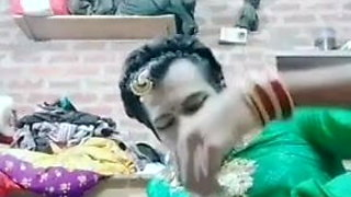 Indiancrossdresser alisha cum swallow