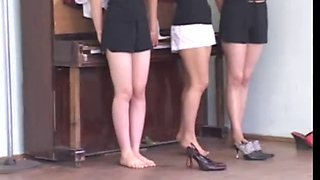 Her First Punishment - Gym Lesson 01