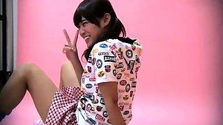 Mika Osawa Female Student Without Panties Upskirt