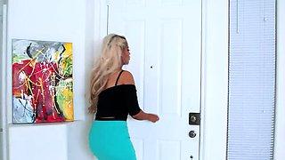 Naughty America Bridgette B. is a lonely, kinky housewife