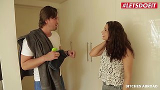 BITCHES ABROAD - Hot Ass Teen Nikki Waine Takes Anal Abroad