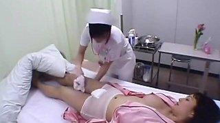 Japanese lesbians in clinic