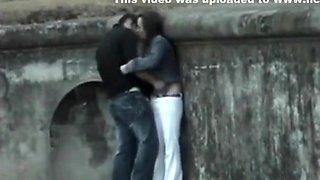 Voyeur tapes multiple couple having sex in public' compilation