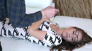 FamilyStrokes - Britney Amber Swallows Hung Guy