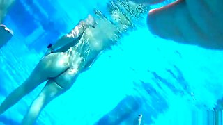 Nude Couples Underwater Pool Hidden Spy cam Voyeur HD 1