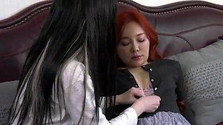 Korean lesbian movie scene