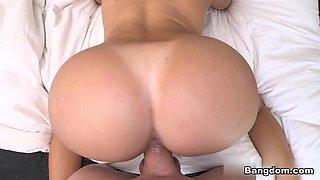 Julianna Vega in Big tit Latina maid takes dick Video