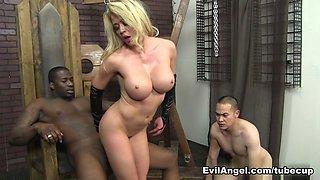 Mia Lelani,Eric Jover,Rob Piper in Mean Cuckold #04, Scene #01