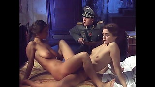 Soldier forces two sisters to fuck, upscaled to 4K
