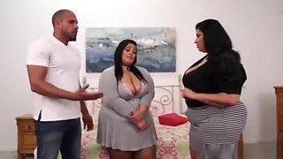 Ssbbw Threesome mom stepdad and daughter fucking delicious