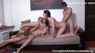 Three-way becomes a foursome