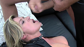 extreme labia pierced german milf rough fisted